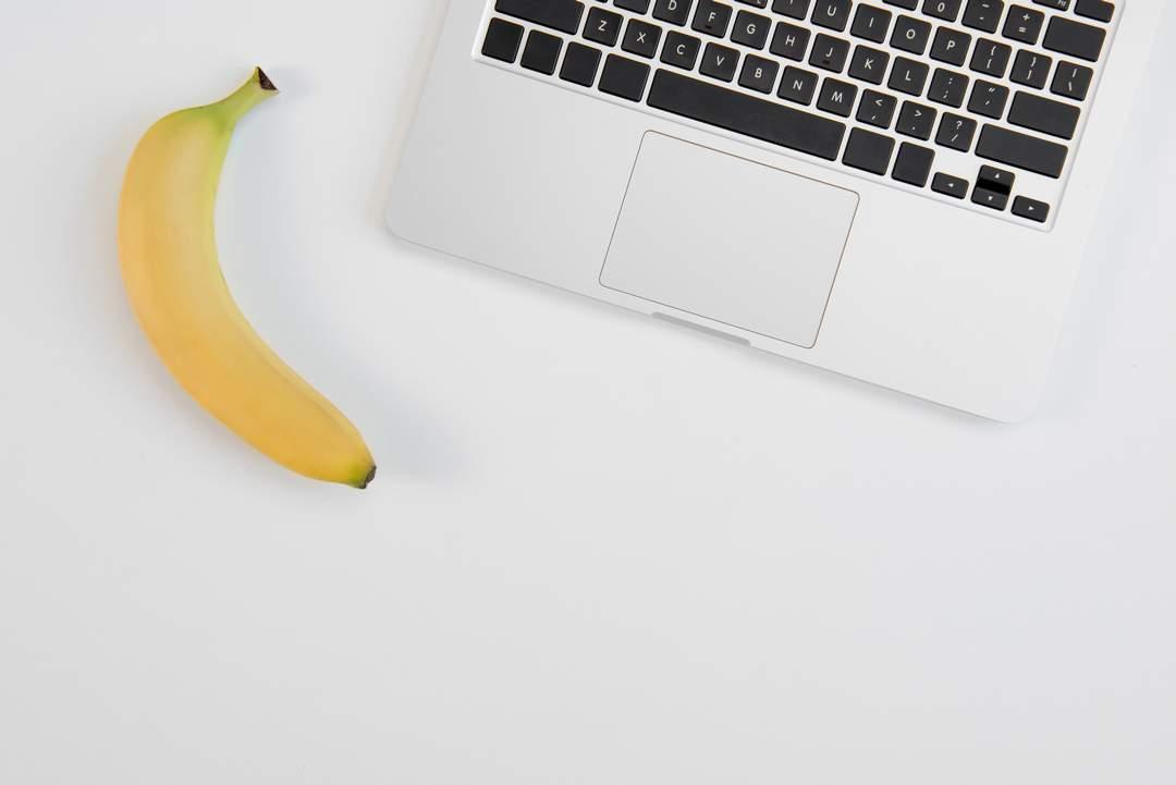 comer platano en la oficina - mejores horas comer fruta