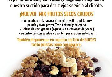 ¡Ampliamos nuestro surtido! Ahora también frutos secos #FrutosSecosEnTuOficina